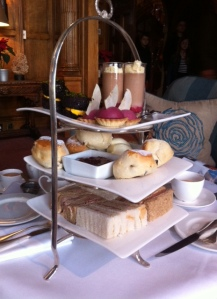 Bovey Castle full afternoon tea for three