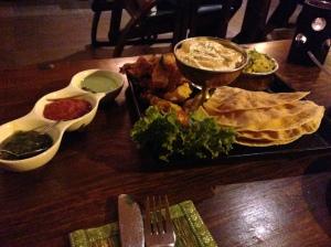 Sharing starter platter, Mayura