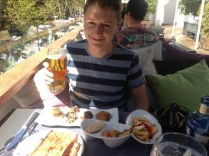 The boy's tapas set menu - Attic