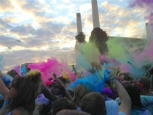 Holi Festival at Battersea Power Station (June 2013)