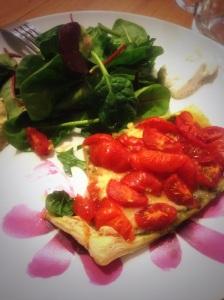 Extra Special Tomkin Tomato Tartlet