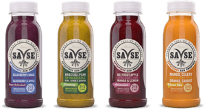 A selection of the Savse Smoothie range