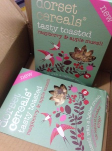 Dorset Cereals new toasted range