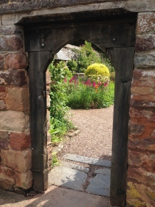 Dunster church garden