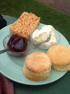 Somerset cream tea