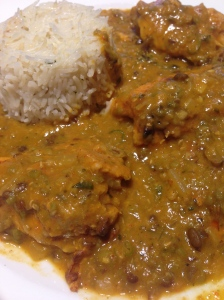 Orissa style chicken curry