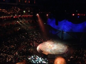 Our seats in the Circle Royal Albert Hall (section V)