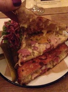 Ham Hock Cheese Toastie