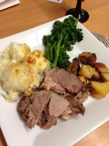 Sunday roast lamb